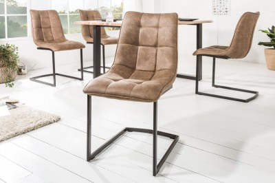 Konzolová židle Gunner taupe