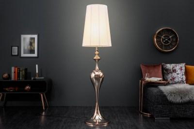 Stojanová lampa Lucy 160 cm růžovo-zlatá