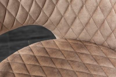 Designová židle Laney růžový samet