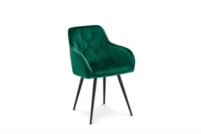 Luxusní jídelní židle Aegis, zelená