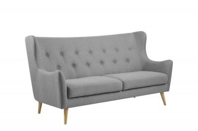 Luxusní sedačka Noah světle šedé