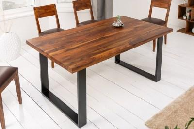 Luxusní jídelní stůl Palace II 180 cm Sheesham