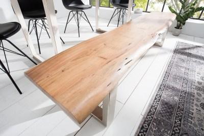 Luxusní lavice Massive 200 cm akácie