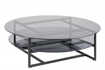 Luxusní konferenční stolek Akbar kouřová