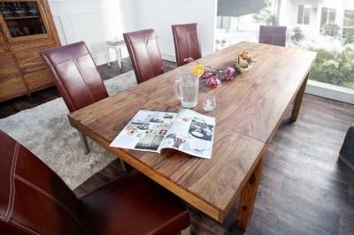 Luxusní jídelní stůl z masivu rozkládací 160-240cm Las Palmas