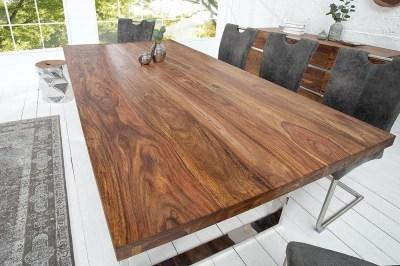 Luxusní jídelní stůl Flame 160cm z masivu