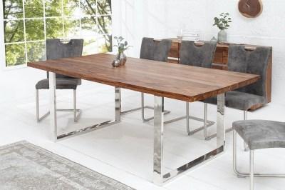 Luxusní jídelní stůl Flame 160cm masiv