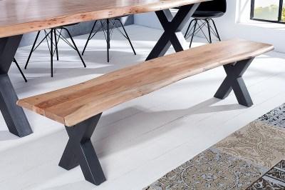 Luxusní lavice Massive X 160 cm akácie