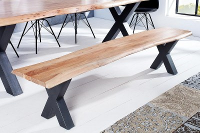 Luxusní lavice Massive X 200 cm akácie