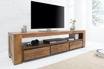 Luxusní TV stolek Timber z masivu 170 cm
