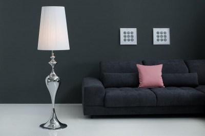 Stojanová lampa LUCY Bílá 160 cm