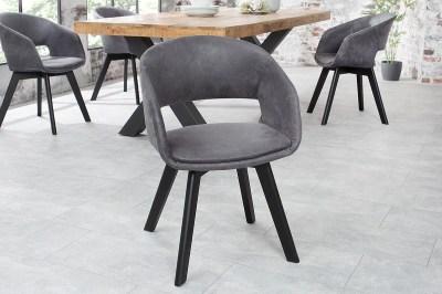 Designová židle Colby antik šedá