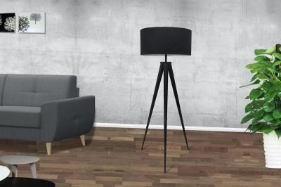 Stojanová lampa Dawson černá