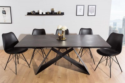 Jídelní stůl rozkládací Brock láva 180-260 cm