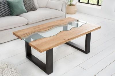 Konferenční stolek Owen 115 cm divoký dub