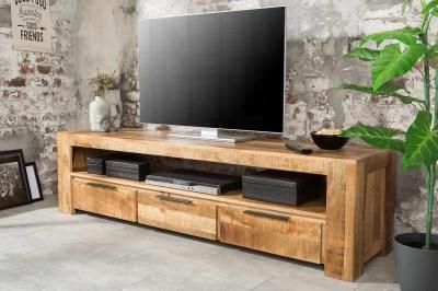 Designový TV stolek Thunder 170 cm mango