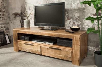 Designový TV stolek Thunder 130 cm mango