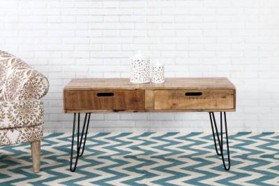 Designový konferenční stolek Felix 100cm mango