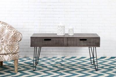 Designový konferenční stolek Felix 100cm šedé mango