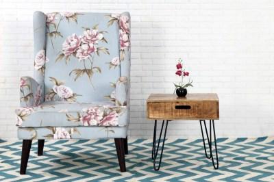 Designový odkládací stolek Felix 50cm mango