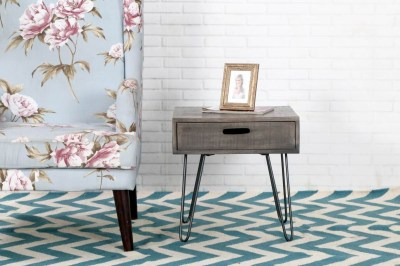 Designový odkládací stolek Felix 50cm šedé mango