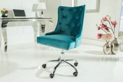 Kancelářská židle Jett tyrkysová