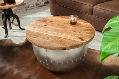 Designový konferenční stolek Maurice, přírodní