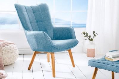 Designové křeslo Sweden, modré