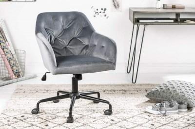 Kancelářské křeslo Kiara, šedé