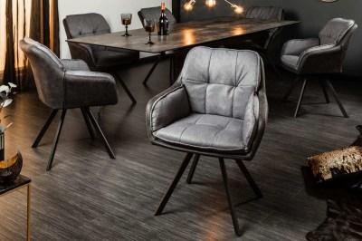 Designová židle Joe, antracit
