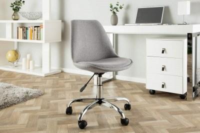 Kancelářská židle Sweden, světlešedá