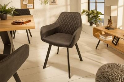 Designová židle Francesca, antracit