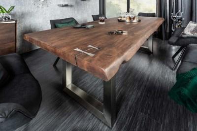 Designový jídelní stůl Massive Artwork, 240 cm, akácie