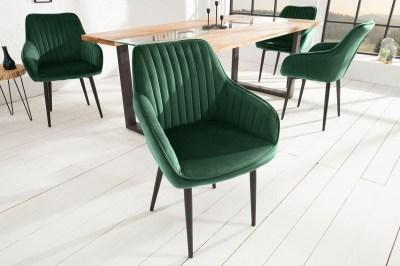 Designová židle Esmeralda zelená