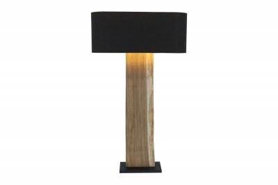 Designová stojanová lampa Lorelei, černá, ořech