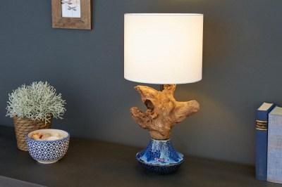 Designová stolní lampa Sloane, 50 cm ořech