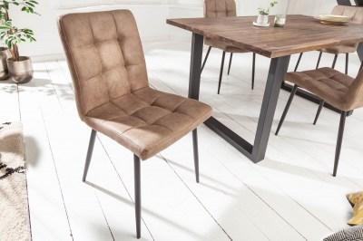 Designová židle Modern antik taupe