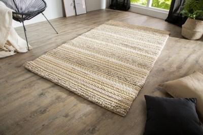 Designový koberec Rebecca 200x120 cm / přírodní pletenina