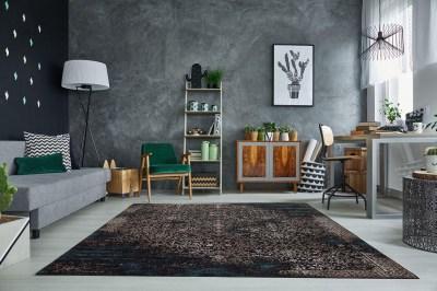 Designový koberec Batik 240x160 cm / tmavě modrá