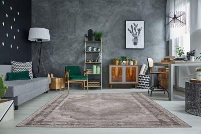 Designový koberec Lessie II 240x160 cm / světle šedá