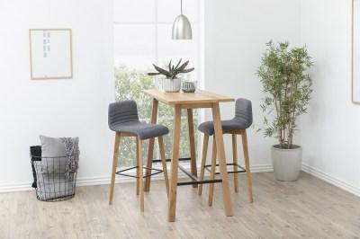 Moderní barová židle Alano antracitová