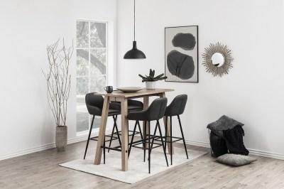 Moderní barová židle Alard holubičí šedá