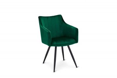Moderní jídelní židle Aelfric, zelená