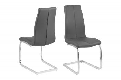 Moderní židle Alcwin šedá