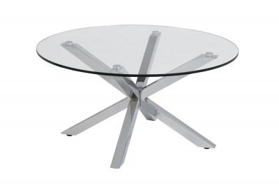 Moderní konferenční stolek Ajami chromová
