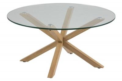 Moderní konferenční stolek Ajami imitace dubové dřevo