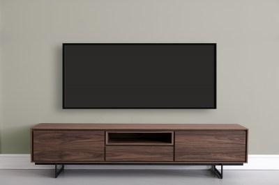 Moderní TV stolek Aage, vlašský ořech