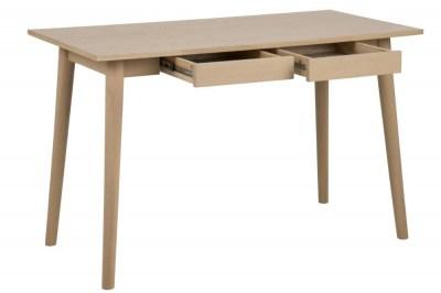 Designový psací stůl Nahla 120 cm dub bílý