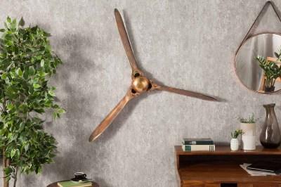 Nástěnná dekorace Wade 90 cm měděná