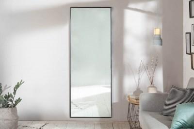 Nástěnné zrcadlo Acotas 160 cm černé